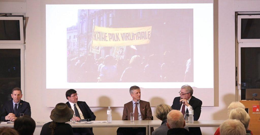"""Video: """"Um- und Aufbrüche – Aktuelle baltische Perspektiven auf das Jahr 1989"""""""